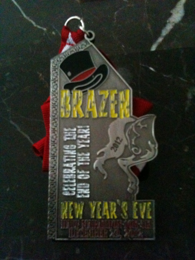 New Year's Eve Medal