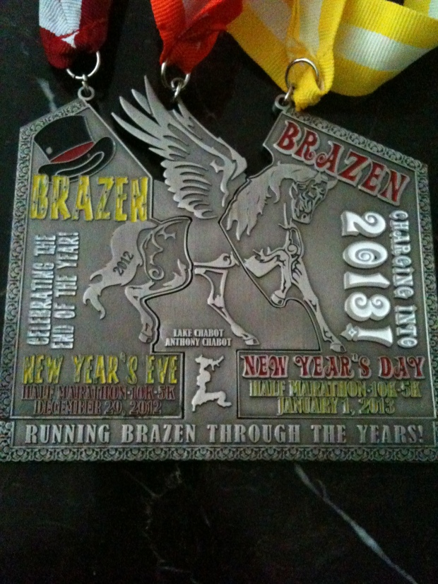 NYE & NYD Medals combined!